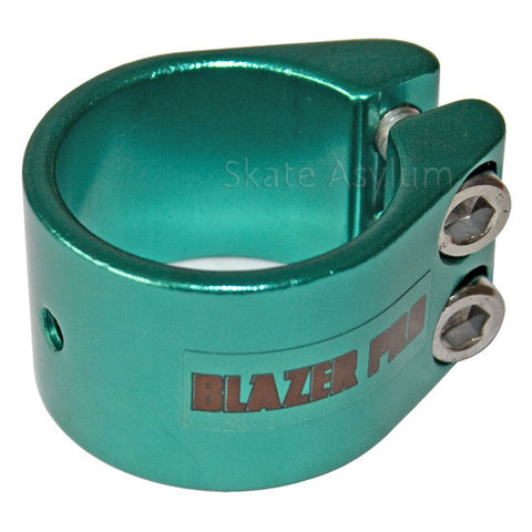 Blazer Pro Double Collar Clamp - Green