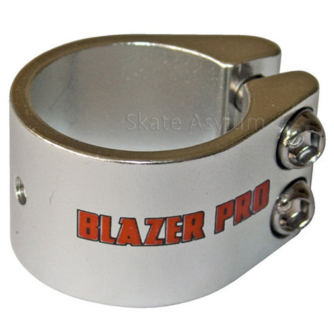 Blazer Pro Double Collar Clamp - Silver