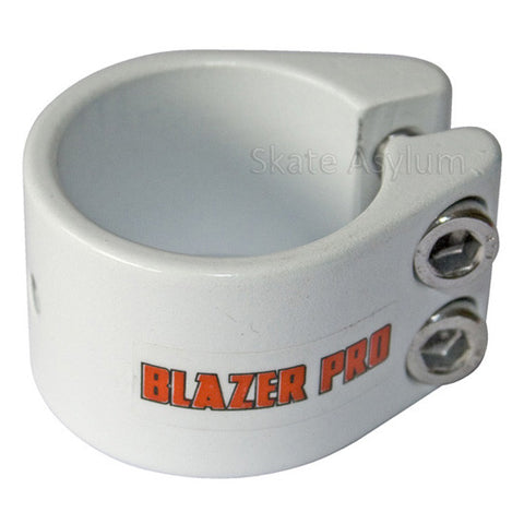 Blazer Pro Double Collar Clamp - White