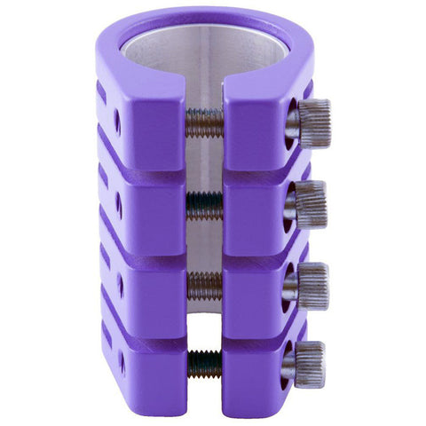 Blazer Pro Snake Quad Clamp - Matt Purple