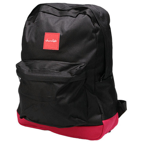 Chocolate Skateboards Simple Backpack - Black/Red