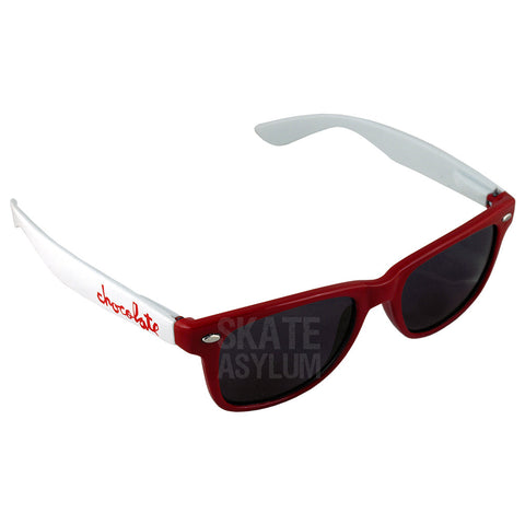 Chocolate Chunk Shades Red/White