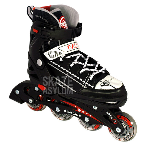 California Pro Dallas Adjustable Inline Skate Black
