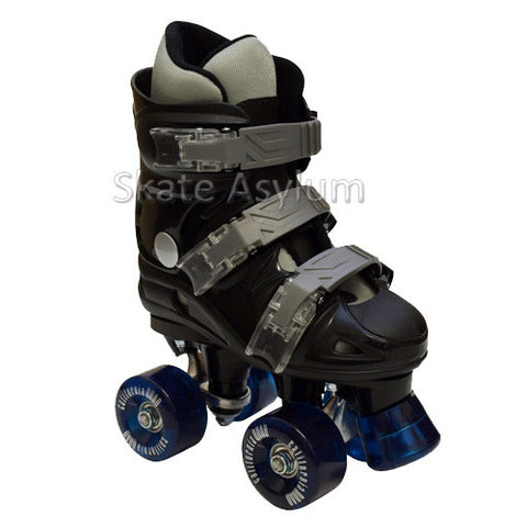 California Pro VT06 Quad Roller Skates - Black