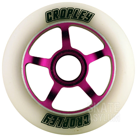 Cropley 100mm Metal Core Wheel - Purple