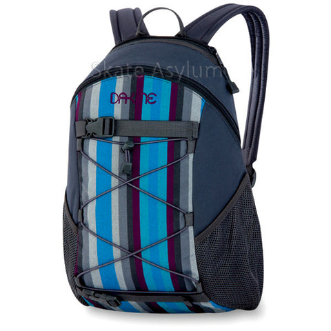 Dakine Wonder Backpack Charcoal Pacific Stripes