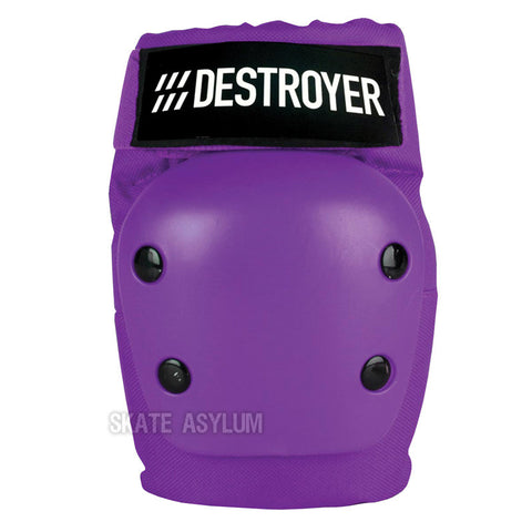 Destroyer Recreational Elbow Pads Purple