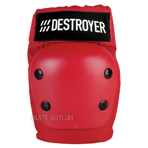Destroyer Recreational Elbow Pads Red