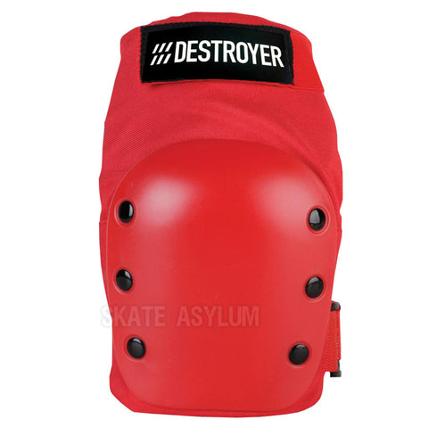 Destroyer Recreational Knee Pads Red