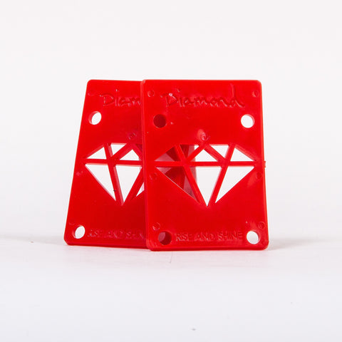 Diamond Supply Co Rise and Shine Risers Red