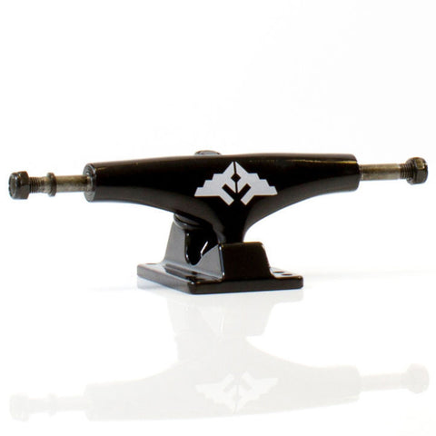 "Fracture Wings 5.25"" Skateboard Trucks Black"