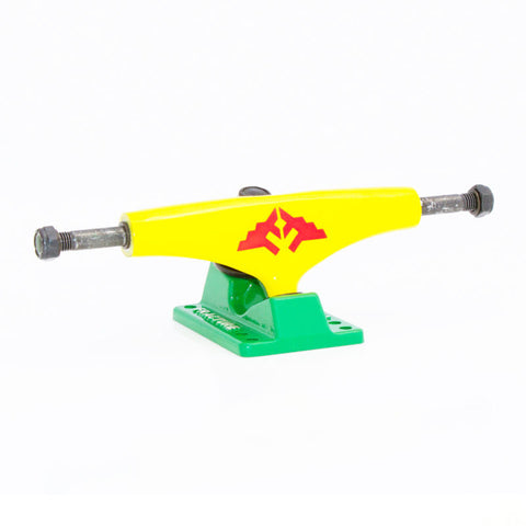 "Fracture Wings 5"" Skateboard Trucks Rasta"