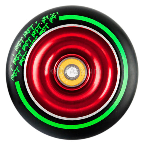 Grit Black Max 100mm Wheel - Red