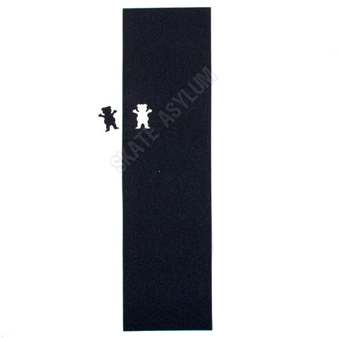 Grizzly Goofy Die Cut Bear Grip Tape - Black