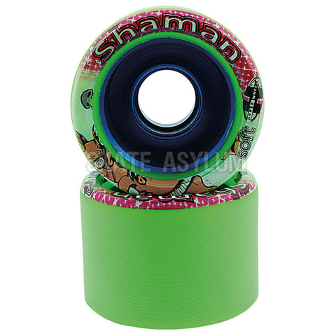 Hyper Shaman 62mm Quad Wheels Green
