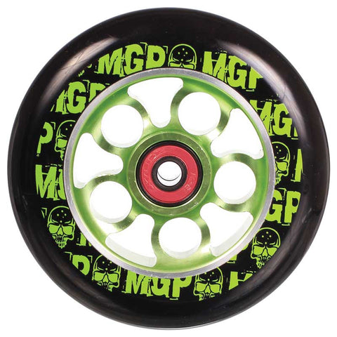 Madd MGP Aero Skull 110mm Lime Wheel with Bearings