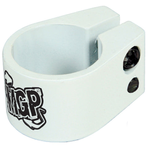 Madd MGP Double Collar Clamp White