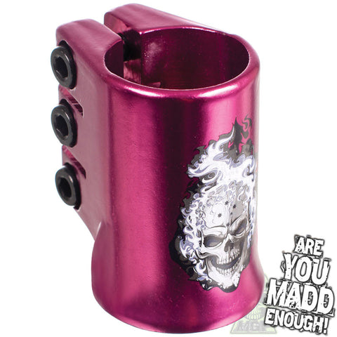 Madd MGP Hot Head Triple Clamp Purple
