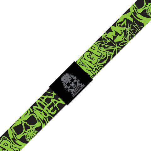 Madd MGP Web Belt - Black/Lime