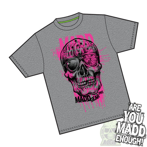 Madd MGP Bonehead T-Shirt - Dark Heather
