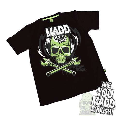 Madd MGP Lightning Bolt T-Shirt - Black