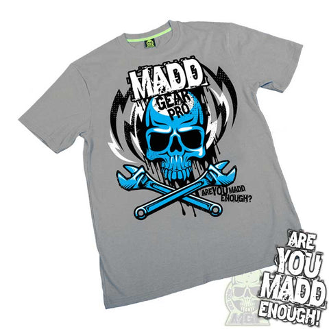 Madd MGP Lightning Bolt T-Shirt - Dark Heather