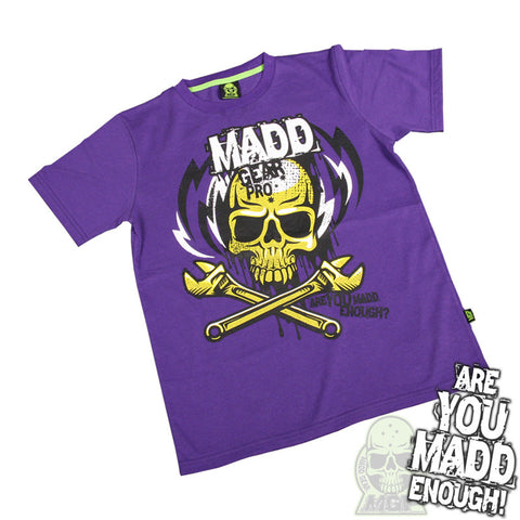 Madd MGP Lightning Bolt T-Shirt - Purple