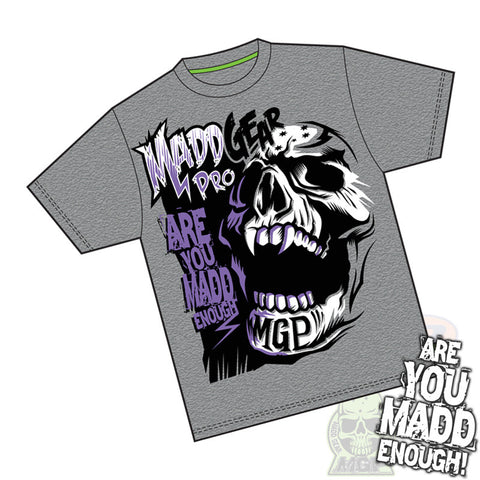 MGP Madd Enough T-Shirt - Dark Heather