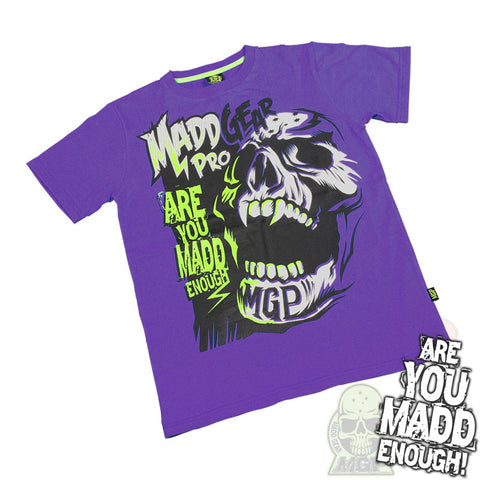 MGP Madd Enough T-Shirt - Purple