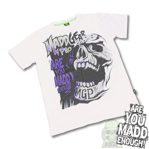MGP Madd Enough T-Shirt - White