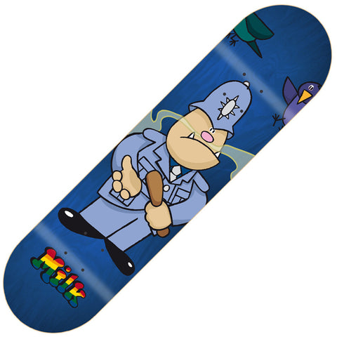 "Milk Henry Copper Skateboard Deck 8.0"" - Blue"