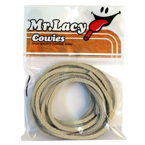 Mr Lacy Cowies Shoe Laces Beige