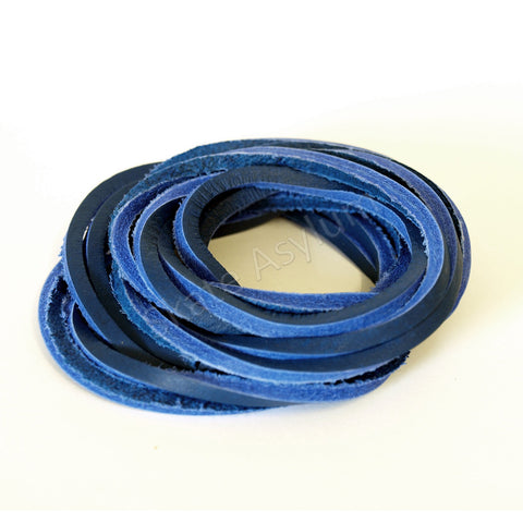 Mr Lacy Cowies Shoe Laces Royal Blue