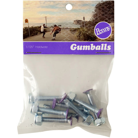 Penny Gumball Bolts - Purple