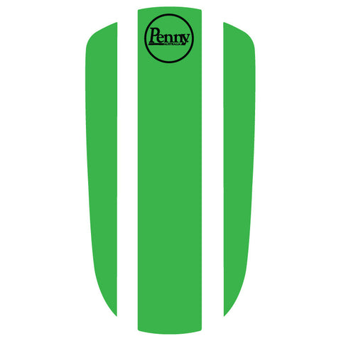 "Penny Nickel 27"" Panel Sticker - Green"
