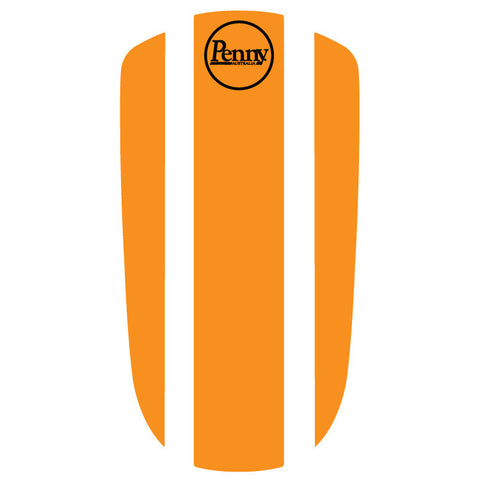 "Penny Nickel 27"" Panel Sticker - Orange"