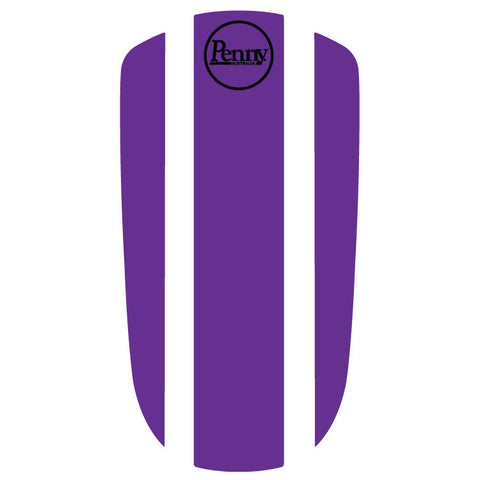 "Penny Nickel 27"" Panel Sticker - Purple"