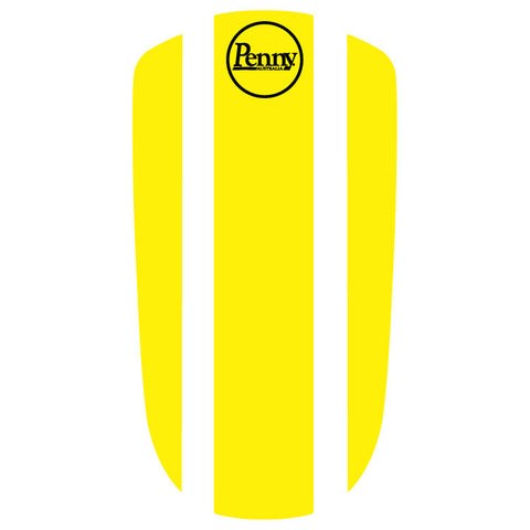"Penny Nickel 27"" Panel Sticker - Yellow"