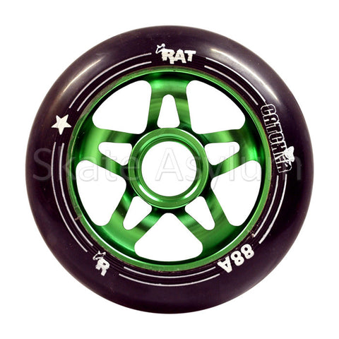 Rat Catcher 100mm Scooter Wheel Black/Green
