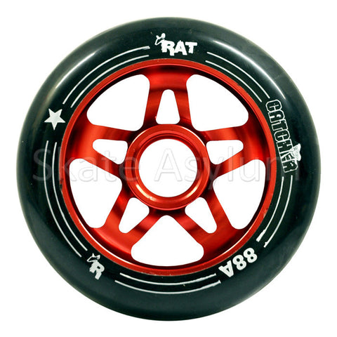 Rat Catcher 100mm Scooter Wheel Black/Red