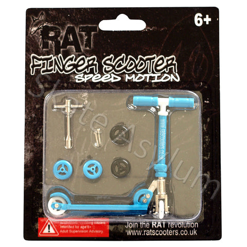 Rat Finger Scooter Blue