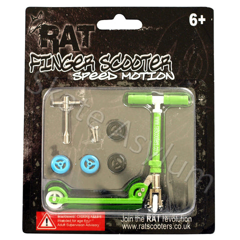Rat Finger Scooter Green