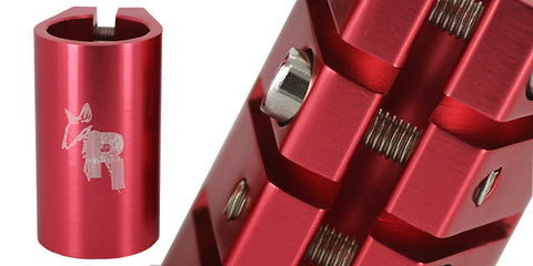Rat Quad Clamp Red