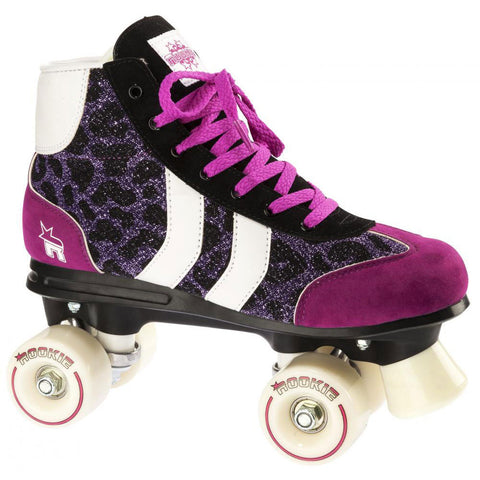 Rookie Retro Roller Skates Purple Glitter