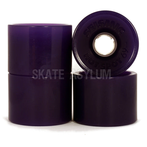 Seismic Hotspot 69mm Wheels Purple