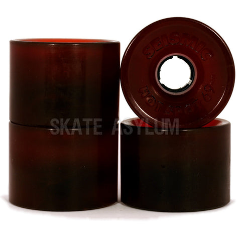 Seismic Hotspot 69mm Wheels Vintage Red