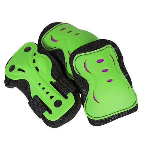 SFR Essentials Triple Pad Set Green/Purple