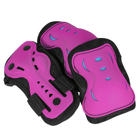 SFR Essentials Triple Pad Set Pink/Blue