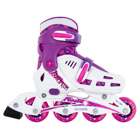 SFR Phantom Adjustable Inline Skate White/Purple