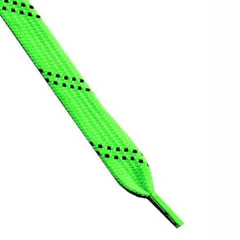 Skate Laces Neon Green/Black